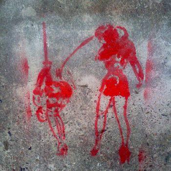 Berlin Kreuzberg Fetisch Grafitti