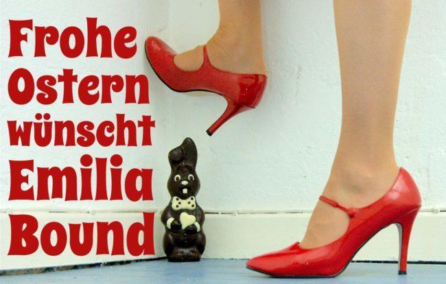 Emilia Bound wünscht Frohe Ostern.