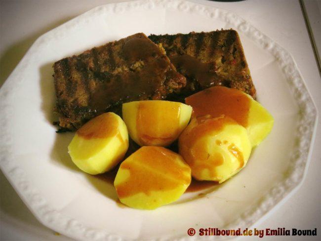 Vegetarischer Braten aus der Küche von Emilia Bound