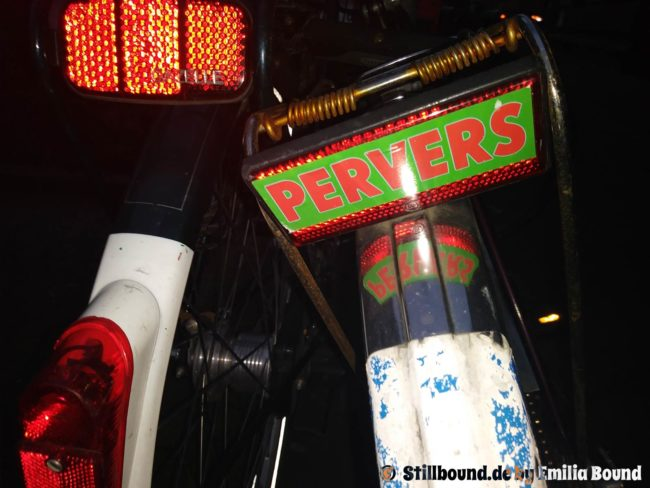 Radfahrer pervers