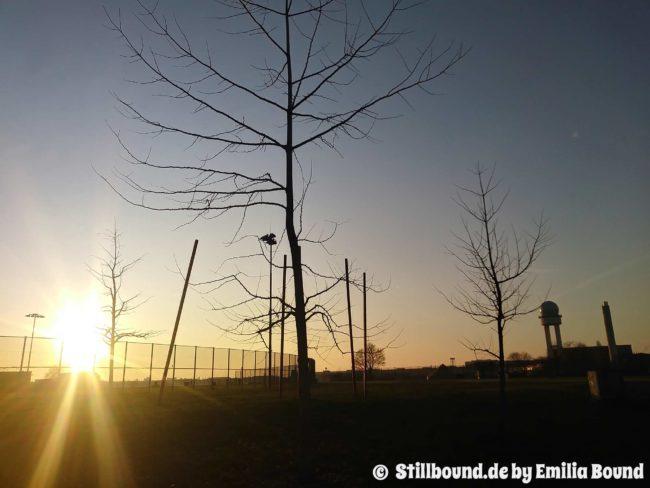 Foto Flughafen Tempelhof Winter