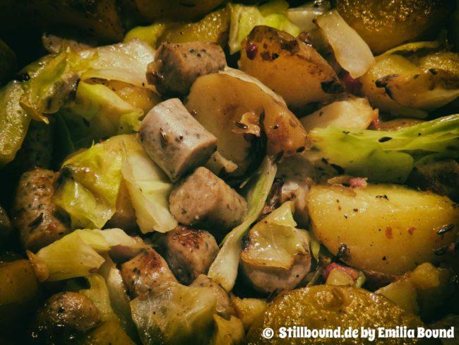 Foto Detail Kartoffelpfanne