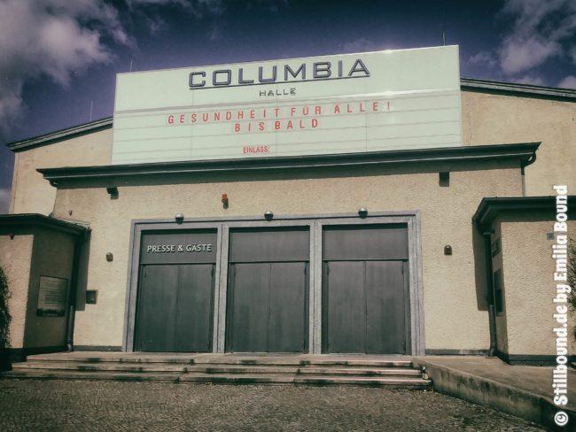 Columbiahalle Berlin Eingang
