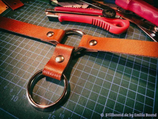 Stillbound Bondage - Halsband mit O-Ring