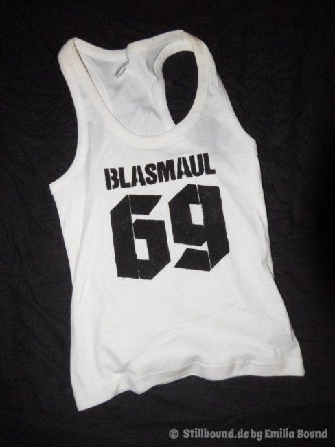 "bedrucktes Shirt ""Blasmaul 69"""