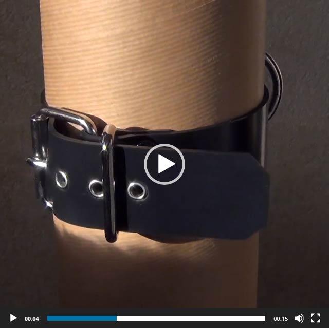 Heavy Rubber Choker, nicht nur für Dogplayer