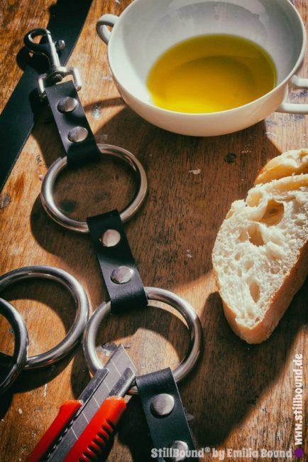 Foto Werkstatt griechisches Olivenöl aus Xenophontos