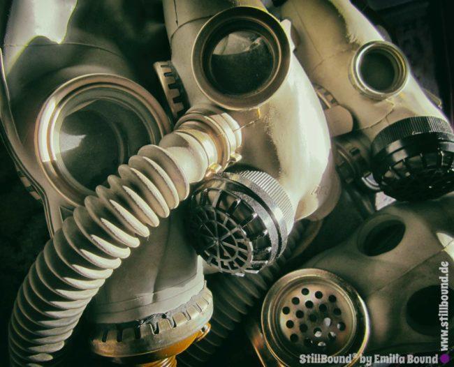Russische Gasmasken